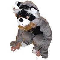 Kinder Baby Kostüm Fasching Halloween Karneval Waschbär Racoon Costume Junge 86