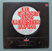 Bar Trio - Die grossen Tanzorchester 1930-1950   2x Lp  Polydor