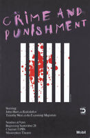 Original Vintage Poster Masterpiece Theatre Crime & Punishment Dostoevsky Russia