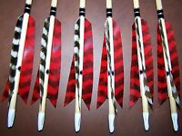6 PO CEDAR  TRADITIONAL WOOD ARROWS  40/45, 45/50, 50/55  YOU PICK SPINE