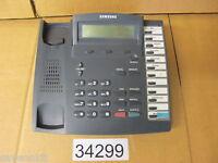 Samsung KPDCS-12B LCD Telephone Charcoal KPDCS 12B