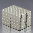 50 x Strong Small Block Cuboid Rare Earth Neodymium N50 Magnets 20mm x 5mm x 3mm