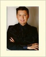 BRIAN DOWLING CELEBRITY BIG BROTHER HAND SIGNED AUTOGRAPH PHOTO 10X8 MOUNTED COA