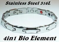 Anion Magnetic Fir Energy Germanium  Power Bracelet Health 4in1 Bio Armband Ciff
