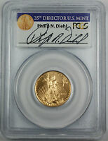 1999-W $10 American Gold Eagle, PCGS MS-69, Emergency Issue, Signed by Mint Dir.