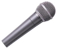 Behringer Ultravoice XM8500 handheld vocal microphone metal inc case & clip