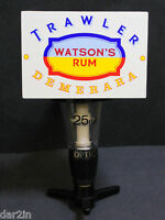 WATSONS RUM TRAWLER DEMERARA PUB BAR COLLECTOR DRINK MEASURE OPTIC 25ML USED #20