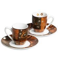 Ritzenhoff & Breker Chile Espresso- Set, Zwei Tassen & Untertassen, Porzellan