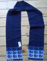 DKNY Scarf  Blue Authentic New   70% acrylic 30% wool rrp£98 Made In Italy