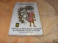 J.R.R Tolkien Smith Of Wooton/Farmer Pb 1St Print 1969