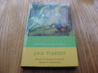 J.R.R Tolkien Farmer Giles Of Ham Hb 50th Anniversary E