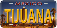 Tijuana Lighthouse Mexico Novelty Car License Plate