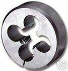 Métrique HSS circulaire fendue Die M8 x 1,25 8 mm 1.0.8cm OD