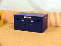 ACCESSOIRE 1/50 BUNGALOW  WC  DE CHANTIER  EN KIT 100 X 50 X 50 mm