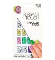 Elegant Touch False Nails - Speckled Eggs Limited Edition (No Glue)- (24 Nails)