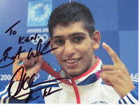 AMIR KHAN Signed 6x4 Photo WBA IBF Light Welterweight BOXING WORLD Champion COA