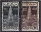 1912 CAMPANILE S. MARCO SERIE CPL n° 15 DI 2 Val. MLH* CENTRATURA BUONA € 116,00