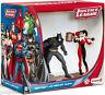 DC Comics pack 2 figurines Justice League Batman vs. Harley Quinn Schleich 22514