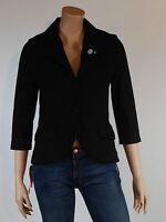 veste noir femme SESSUN manches 3/4 modèle kirsten taille M ( T 38 )