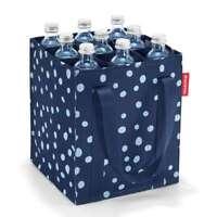 reisenthel bottlebag, tasche für 9 flaschen, tragetasche für einkauf, spots navy