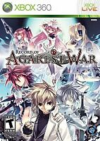 NEW Record of Agarest War (Microsoft Xbox 360, 2010)