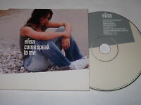 ELISA - COME SPEAK TO ME   (CD SINGLE / 2002)   UK