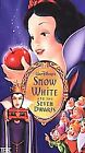 Snow White and the Seven Dwarfs (VHS, 2001, Clam Shell Special Edition)