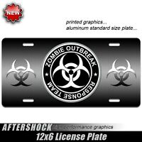 Zombie Outbreak license plate response team