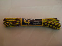 SHOE LACES BOOT 1 PAIR yellow brown TRAINER HIKING WALKING  140 CM FREEPOST