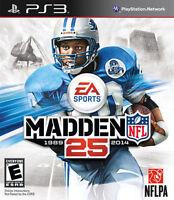 Madden NFL 25 (Sony PlayStation 3, 2013)