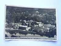 alt AK Schloss Pillnitz mit Hausberg Gaststätte 1937 (02853)