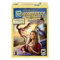 Schmidt Spiele Carcassonne, Burgfräulein und Drache, Erweiterung 3, Neue Version