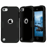 Shockproof Heavy Duty High Impact Hard Case Cover for Apple iPhone 5c, Black