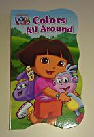 "Dora the Explorer ""Colors All Around"" Children's Book"