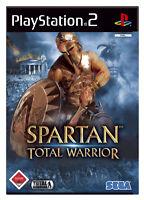 Spartan - Total Warrior (Sony PlayStation 2, 2005, DVD-Box) Spiel