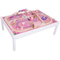 Bigjigs Rail Magical Train Set and Table - Other Rail Brands are Compatible