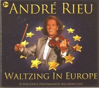 ANDRE RIEU WALTZING IN EUROPE - 2 CD BOX SET - 25 MASTERFUL PERFORMANCES LIVE