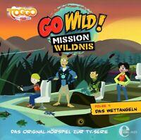 GO WILD!-MISSION WILDNIS - (4)ORIGINAL HÖRSPIEL Z.TV-SERIE-DAS WETTANGELN CD NEU