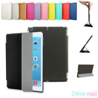 Genuine Smart Leather Slim Kids Case Cover For Apple iPad 2/3/4 Mini Air Pro Lot