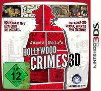 Nintendo 3DS - Spiel | James Noir's Hollywood Crimes 3D | inkl. OVP | sehr gut