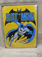 Batman Retro Comic Tin Metal Sign DC Comic Super Hero NEW Vintage Look