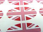 Rosa Bandiera Union Jack Ovale Sigillare Etichette,Adesivi per Fascia,Buste,