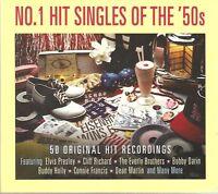 NO. 1 HIT SINGLES OF THE '50s - 2 CD BOX SET