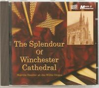 THE SPLENDOUR OF WINCHESTER CATHEDRAL CD MARTIN SOUTER AT THE WILLIS ORGAN