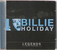 BILLIE HOLIDAY LEGENDS CD ORIGINAL RECORDINGS - GOD BLESS THE CHILD & MORE