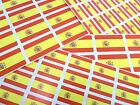 ESPAÑA Autoadhesivo BANDERA Etiquetas Autoadhesivo ESPAÑOL Bandera Pegatinas