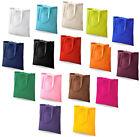 algodón Hombro Bolsa Compras Bolso 16 Colores