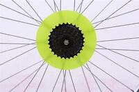 "7 1/2"" TRENDY SPOKE DISC PROTECTOR MTB SPORTS BIKE GREEN, PINK, OR YELLOW"