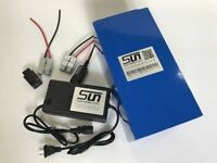 32650 LiFePO4 48V 20AH Batteries Pack 4A Charger BMS Rechargeable US Warranty