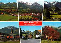 Fischen im Oberallgäu ,AK – 1986 - gelaufen -